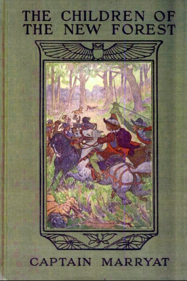 the_children_of_the_new_forest_-_1911_book_cover